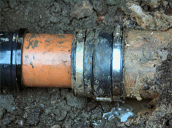 Deep excavations and drain repairs