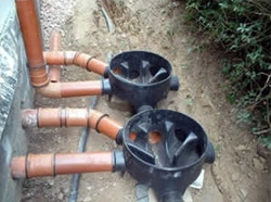 Land drainage systems